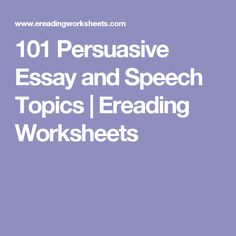 persuasive essay online activities This learning activity asks students to create an oral history of someone who remembers world war ii, create a persuasive writing piece, or write a research paper, and then publish their work online.