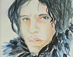 "Check out new work on my @Behance portfolio: ""Jon Snow Watercolours"" http://be.net/gallery/31646465/Jon-Snow-Watercolours"