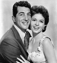 Dean Martin & Eva Bartok. He's heard a lot of bar talk.