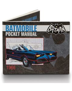 Batmobile Mighty Wallet  $15