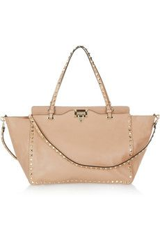 Valentino  The Rockstud leather trapeze bag - I never really like Valentino's bags until this!