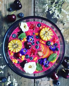 Coconut Milk Bowls are Beautifully Created as Vibrant Works of Edible Art