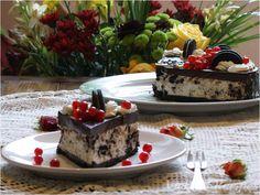 Cheesecake cu biscuiți Oreo Tiramisu, Oreo, Delicious Desserts, Cheesecake, Ethnic Recipes, Food, Cheesecake Cake, Cheesecakes, Hoods