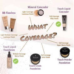 Concealer & Face Powders