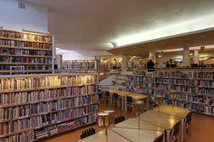 Lappia Hall Library by Adrián Pérez Rovaniemi suomi Finland