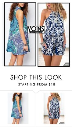 """""""YOINS-Fashion"""" by sabine-rose ❤ liked on Polyvore featuring polyvorecommunity, polyvoreeditorial, yoins, PolyvoreMostStylish and 2016trends"""