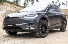 Tesla Model X Gets The Battlecar Off-Road Treatment | Carscoops