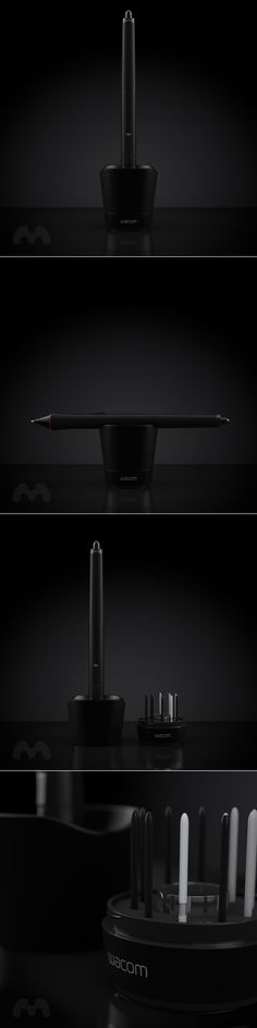 Wacom Intous 4 Pen & Holder on Behance