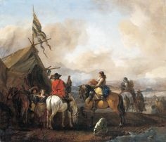 View A military encampment with cavaliers By Philips Wouwermans; Access more artwork lots and estimated & realized auction prices on MutualArt. Rembrandt, Renaissance, Warhammer Fantasy Roleplay, Thirty Years' War, Tudor Era, Dutch Golden Age, Library Images, Dutch Painters, Grand Palais
