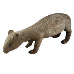 American Folk Art Rodent Sculpture