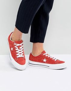 Converse One Star Material Block Low Top | Converse, Mode