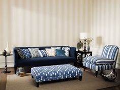 Fabric from Sanderson, Colour For Living, Goodrich