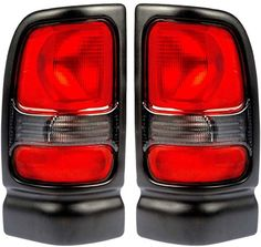 1994-2001 Dodge Ram 1500 (without Sport Package) & 1994-2002 Ram 2500 3500 Pickup Truck Taillight Taillamp Rear Brake Tail Light Lamp Set Pair Left Driver AND Right Passenger Side (1994 94 1995 95 1996 96 1997 97 1998 98 1999 99 2000 00 2001 01 2002 02) - http://www.caraccessoriesonlinemarket.com/1994-2001-dodge-ram-1500-without-sport-package-1994-2002-ram-2500-3500-pickup-truck-taillight-taillamp-rear-brake-tail-light-lamp-set-pair-left-driver-and-right-passenger-side-19