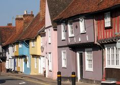 Move out of London to Essex. The lovely town of Saffron Walden.