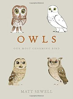 Owls: Our Most Charming Bird by Matt Sewell http://www.amazon.com/dp/1607748797/ref=cm_sw_r_pi_dp_6Bztwb1KKB7EK