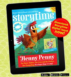 Get some story magic on your travels! You can now download Storytime to your digital device and try an issue for free! Grab it here: https://pocketmags.com/magazines/viewmagazine.aspx?catid=1031&category=Family+%26+Home&subcatid=190&subcategory=Kids&title=Storytime&titleid=2877