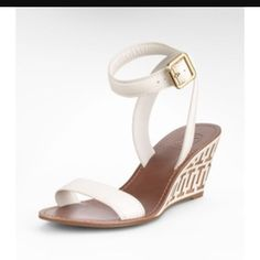 Tory Burch Regan Mid Wedge Sandal