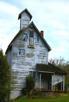 Old barn turned farmhouse