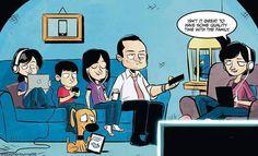 28 Clever Technology Addiction Cartoons - Wow Gallery | eBaum's World