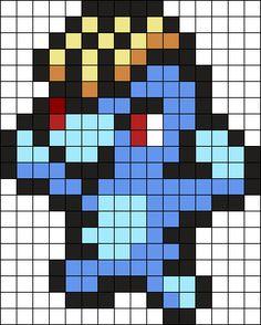 Machop Pokemon Bead Pattern Kandi Pattern