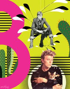 "bowieisbowie: ""The tactful cactus by your window Surveys the prairie of your room The mobile spins to its collision Clara puts her head between her paws They've opened shops down the West side Will all the cacti find a home But the key to the city Is..."
