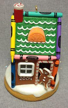 Crayola Crayon - Gingerbread Home - Hallmark - 2004