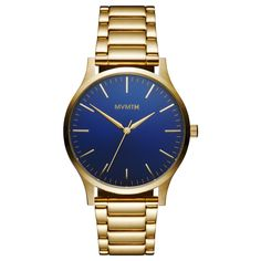 The 40 - Blue/Gold – MVMT Watches