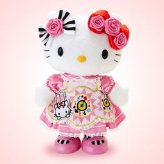 Hello Kitty 40th Anniversary items Alice Kitty Doll Pink Sanrio Online Shop - official mail order site