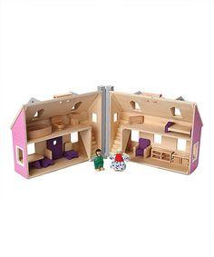 Look at this #zulilyfind! Melissa & Doug Fold & Go Dollhouse by Melissa & Doug #zulilyfinds