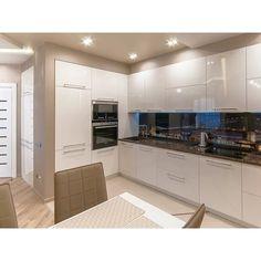 0 Luxury Kitchen Design, Kitchen Room Design, Home Room Design, Home Decor Kitchen, Interior Design Kitchen, Home Kitchens, Kitchen Cupboard Designs, Modern Kitchen Cabinets, Minimalist Kitchen