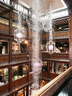 Liberty of London - so totally differentn from other department stores