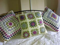 Ravelry: TracySC's Summer garden Cushions