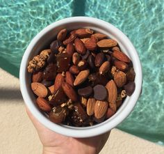 Nut Mix: Almonds, Dark Chocolate Chips, Chopped Dates, Gluten-free Granola