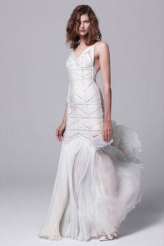 Mariage robe de mariée inspiration J.Mendel croisière 2014