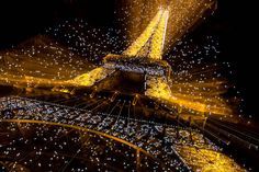 ITAP of the Eiffel Tower at night and zoomed in http://ift.tt/2kOExt9