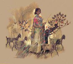 41 Trendy Ideas For Eye Artwork Illustration Inspiration Indian Folk Art, Indian Artist, Art And Illustration, Illustrations, Indian Art Gallery, India Painting, India Art, Indian Art Paintings, Krishna Art