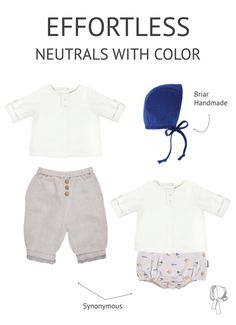 I am sure you know we love classic and elegant here at Synonymous. That's truly our focus and aesthetic. We love the idea of dressing a baby or child with swe
