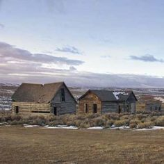 Even in this age of urban sprawl, there are numerous ghost towns left scattered across America. This former log-home settlement in Wyoming was deserted after a local railroad discontinued its freight line through the town