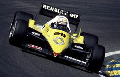 F1´s most beautiful car ever: Renault RE40 1983.