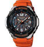 Casio Quartz, Orange Band Black Dial – Unisex Adult Watch GW3000M-4A | Best Buy Watches 237 Dot Com