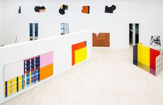 Imi Knoebel at Kunstmuseum Wolfsburg (Contemporary Art Daily) Imi Knoebel, Street Art, Contemporary Art Daily, Sculpture, Kids Rugs, Abstract, Color, Art Exhibitions, Design