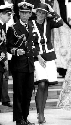 """30 MAY 1993 """"THE WIND OF CHANGE"""" PRINCE CHARLES & PRINCESS DIANA ATTEND THEIR LAST PUBLIC ENGAGEMENT TOGETHER AT THE BATTLE OF THE ATLANTIC COMMEMORATION CEREMONY IN LIVERPOOL"""