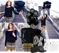 """Brooklyn Bridge Fashion"" by laurizta ❤ liked on Polyvore"