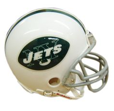 New York Jets 1965 to 1977 Riddell Mini Throwback Helmet