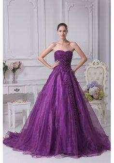 fioletowa suknia ślubna, violet wedding dress