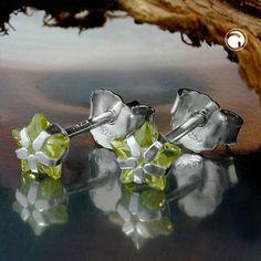 Stecker, Jonquill Zirkonia, Silber 925 accessorize24-92776