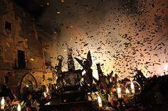 Llegada de Santa Tecla. Chandelier, Ceiling Lights, Painting, Barcelona, Decor, Art, Saints, Main Door, Party