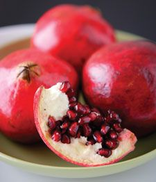 How-to: Learn how to break into a pomegranate and easily enjoy those sweet, crunchy seeds!