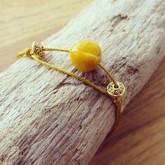 Hoping you'll love this... Yellow ochre 17582 pearl bracelet https://www.etsy.com/listing/560372411/yellow-ochre-17582-pearl-bracelet?utm_campaign=crowdfire&utm_content=crowdfire&utm_medium=social&utm_source=pinterest