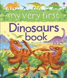 My Very First Dinosaurs Book - IR Usborne Books & More at the Coastal Book Nook www.coastalbooknook.com